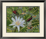 Enchanting Lily Print by Gloria J. Callahan