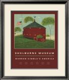 Round Barn Prints by Warren Kimble