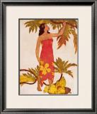 Breadfruit Framed Giclee Print by John Kelly