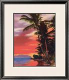 """Isle O' Dreams"", Hawaii Framed Giclee Print"