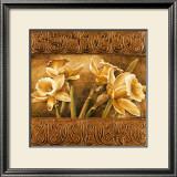 Golden Daffodils I Prints by Linda Thompson
