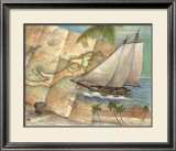 West Indies Schooner Prints by Ron Jenkins