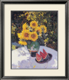 Sunflowers Prints by Edward Noott
