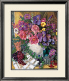 Victorian Bouquet Posters by Francie Botke