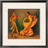 El Baile Prints by Paul Valentine Lantz