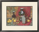 Lemons with Black Vase Posters by Francie Botke