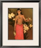 Banana Girl Framed Giclee Print by John Kelly