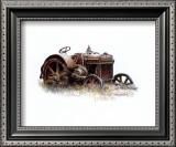 Early Model Case Tractor Prints by Sharon Pedersen