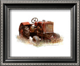 Early Model Oliver Tractor Posters by Sharon Pedersen
