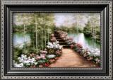 Bridge of Flowers Posters by Diane Romanello
