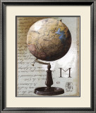 Globe Prints by Gouny & Marange