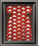 Red Kaftan Prints by Richard Nott