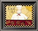 Grill It! Print by Dan Dipaolo