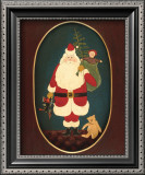 Santa with Toys Art by Warren Kimble