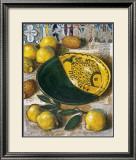 Ceramique aux Citrons Posters by Pascal Lionnet