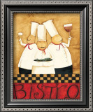 Three Chefs Wine Bistro I Prints by Dan Dipaolo