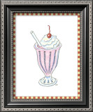 Ice Cream Parlor II Prints by Virginia A. Roper