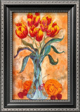 Tulips in a Vase Posters by Gemma Cotsen