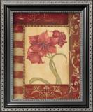 Sienna Blooms II Prints by Jo Moulton