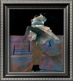 Dancers on a Purple Floor Prints by Robert Heindel