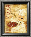 Pizza and Pasta I Print by  Veronique