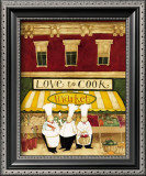 Love to Cook Market Posters by Dan Dipaolo