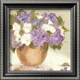 Sun Porch Hydrangeas I Posters by Patricia Roberts