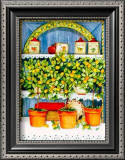 Blossoming Kitchen IV Prints by Jean-Pierre Delyle