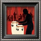 Jazz Ensemble Print by Marco Fabiano