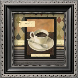 Drinking Mocha Coffe Prints by Carol Robinson