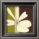 Cream Flower Burst Prints by Debbie Halliday