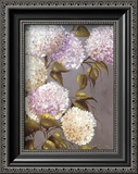 Hortensia Lila Prints by  Ximena