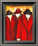 Three Wise Man I Posters by Gisela Ueberall