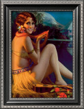 Starlight Wahine Prints by Gene Pressler
