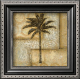 Golden Palm II Prints by  DeRosier