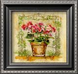 Tiesto con Primulas Art by A. Vega
