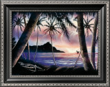 Sunrise over Diamond Head Prints by  Hale Pua Studio