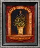 Olive Topiary Niches II Prints by Pamela Gladding