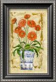 Ceramica con Gerberas Print by A. Vega