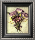 Lisianthus Print by Rosanne Olson
