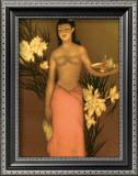 Banana Girl Poster by John Kelly