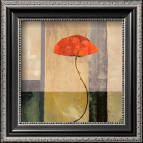 Red Poppies II Print by Philippe Paput