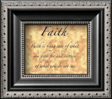 Words to Live By: Faith Posters by Debbie DeWitt