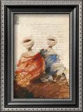 Bedouins Assis I (Etude) Art by Yann Letestu