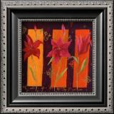 Three Lilies Prints by Loetitia Pillault