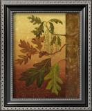 Oak Leaves Poster by Jillian Jeffrey