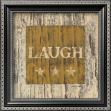 Laugh Poster by Warren Kimble