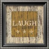 Laugh Poster by Warren Kimble