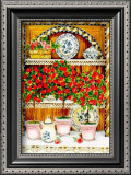 Blossoming Kitchen III Poster by Jean-Pierre Delyle