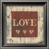 Love Prints by Warren Kimble